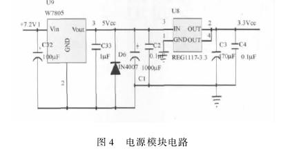 图 4 电源模块电路