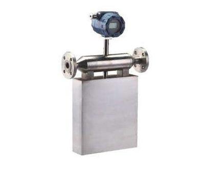 科氏质量流量计测量流体密度方法