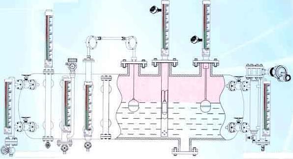 3000m3储油罐浮子液位计