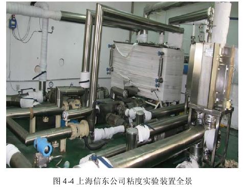 图 4-4 上海信东公司粘度实验装置全景