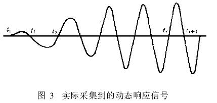 图 3 实际采集到的动态响应信号