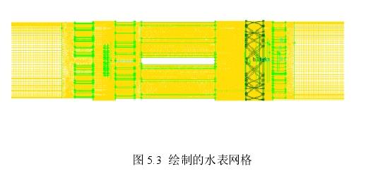 图5.3绘制的水表网格