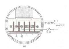 涡轮流量计怎么接线 仪表接线方式