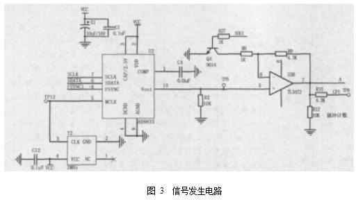 图 3  信号发生电路