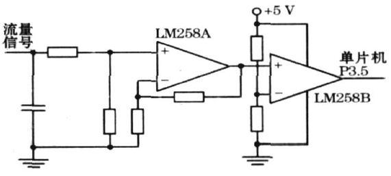 图2  流量检测电路原理图