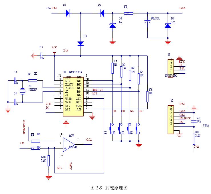 图 3-9  系统原理图