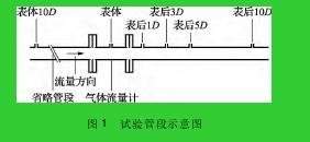 图 1 试验管段示意图