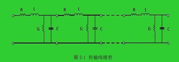 图 2-1  传输线模型