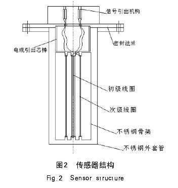 图2  传感器结构