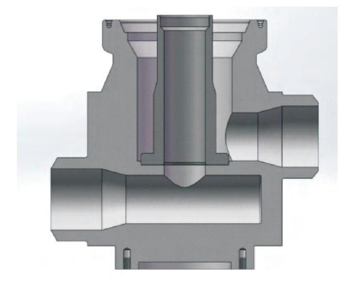 图6 基于管汇的水下流量计模块对接结构