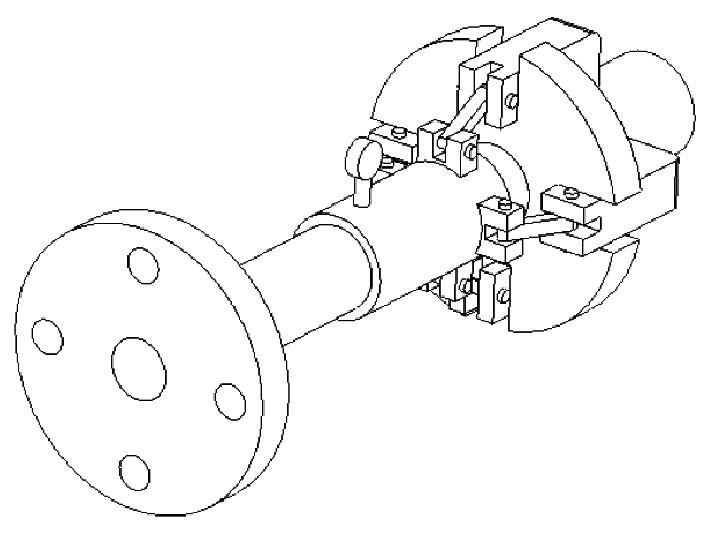 图5 夹表器
