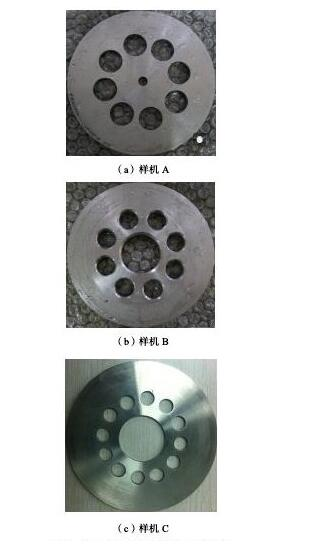 图4 不同结构的多孔孔板实验样机Fig.4 Experimental prototypes of multi-orifice plate with different structures