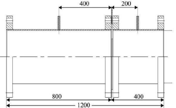 图2 径距取压孔板测量管