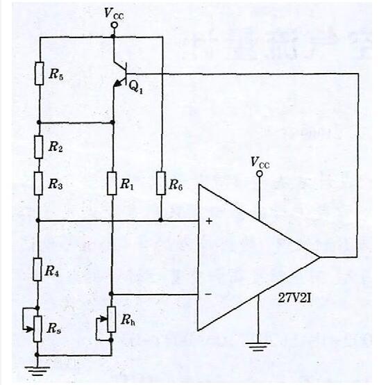 图1 恒温差惠斯通桥式模块原理图