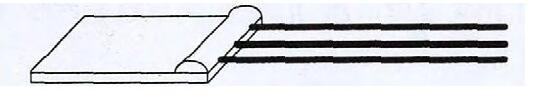 图2 微型流量传感器结构示意图