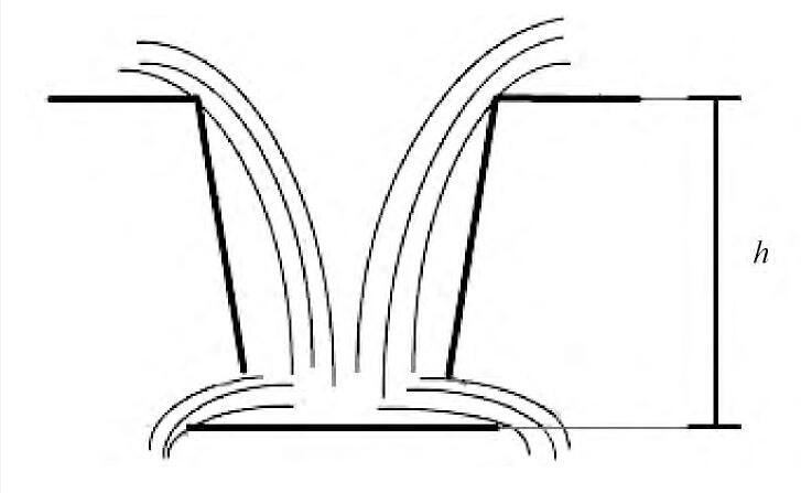 图1 水流跌入雨水口Fig.1 Diagram of flow falling into inlet