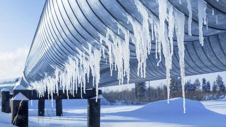 冬天的低温环境