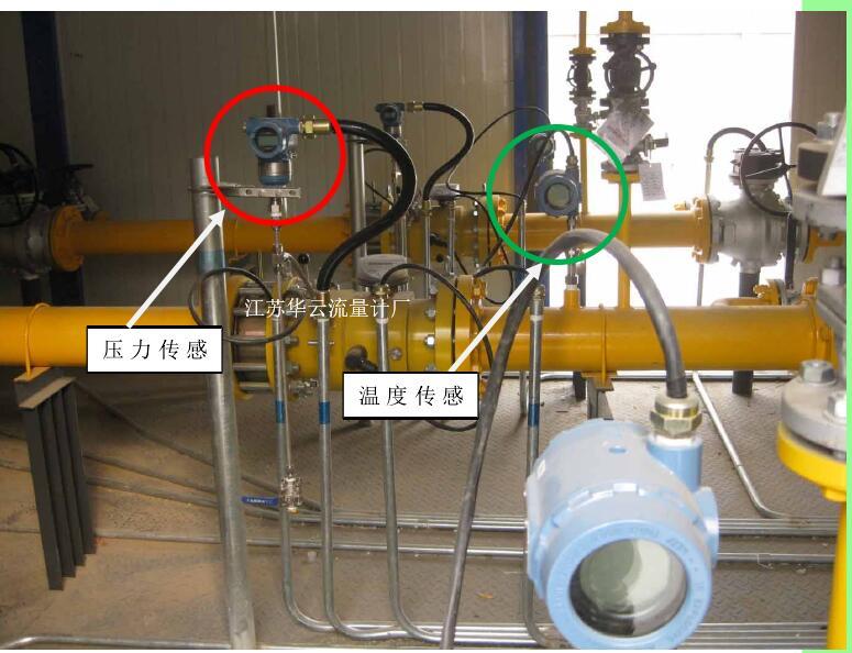 图 2-4 压力和温度传感器