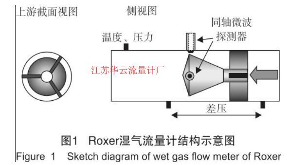 图1 湿气流量计结构示意图