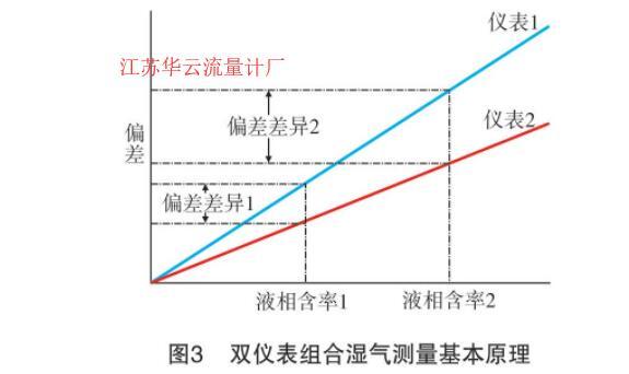 图2 双仪表组合湿气测量基本原理