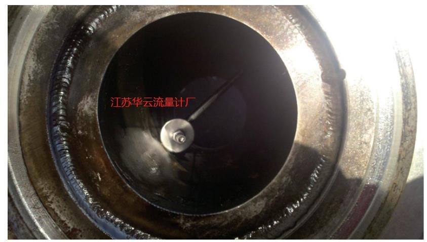 图7 2H井流量计靶杆折断照片