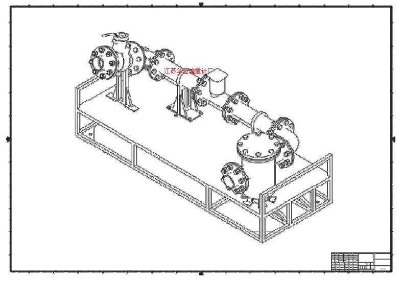 图1 标准装置原理图
