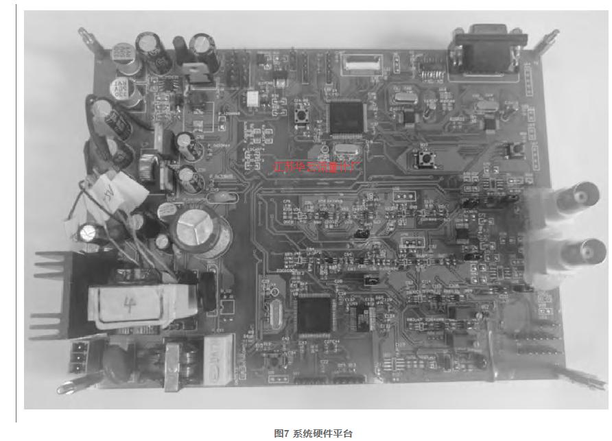 图7 系统硬件平台