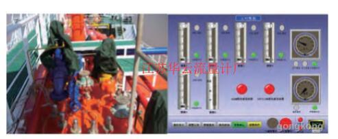 图3 LPG船液位变送器和液位显示装置