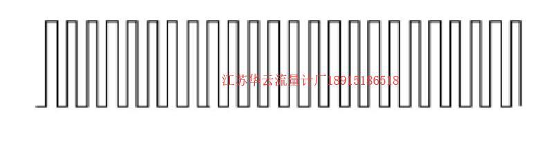 图4 涡轮流量计的规则脉冲输出